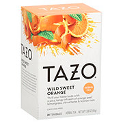 Tazo Wild Sweet Orange Herbal Infusion Tea Bags