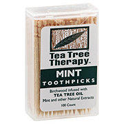 Tea Tree Therapy Therapy Toothpick