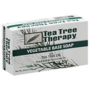 Tea Tree Therapy Vegetable Base Soap with Tea Tree Oil