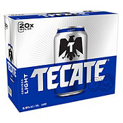 Tecate Light Beer 12 oz Cans