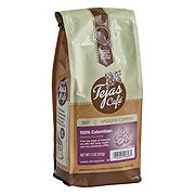Tejas Cafe 100% Colombian Medium Roast Ground Coffee