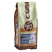 Tejas Cafe French Roast Dark Roast Ground Coffee