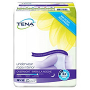 Tena Incontinence Overnight Medium Underwear For Women