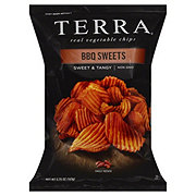 Terra Sweet Potato Chips Krinkle Cut BBQ