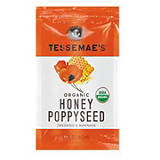 Tessemae's Organic Honey Poppyseed