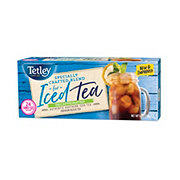 Tetley Naturally Decaffeinated Iced Tea Blend Family Size