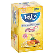 Tetley Super Herbal Tea Glow Pineapple And Citrus Flavor
