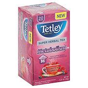 Tetley Super Herbal Tea Metabolism Blueberry Raspberry
