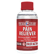 TexaClear Liquid Pain Reliever One-Dose Shot