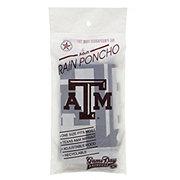 Texas A&M Lightweight Adult Rain Poncho