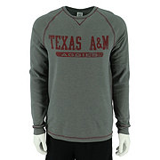 Texas A&M Men's Gray Crew Neck Thermal Shirt