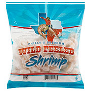 Texas Bay Frozen Raw Gulf Shrimp Peeled and Deveined, Wild Caught, 50/70 ct