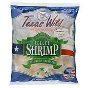 Texas Bay Raw Peeled Wild Gulf Shrimp