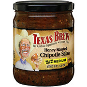 Texas Brew Honey Roasted Chipotle Medium Salsa