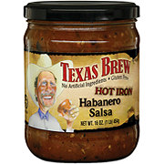 Texas Brew Hot Iron Habanero Salsa