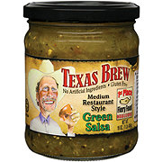 Texas Brew Medium Restaurant Style Green Salsa