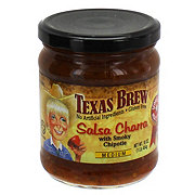 Texas Brew Medium Salsa Charra with Smoky Chipotle
