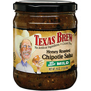 Texas Brew No Heat Mild Honey Roasted Chipotle Salsa