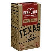 Texas Chili Beef Chili