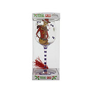 Texas Gals Holiday Wine Glass Assorted Colors