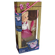 Texas Girl Pink Skirt Cowgirl Doll