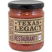 Texas Legacy Restaurant Style Mild Salsa