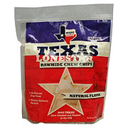 Texas Lone Star Rawhide Chew Chips