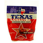 Texas Lone Star Rawhide Chew Chips Beef Flavor