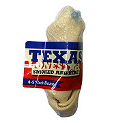 Texas Lone Star Smoked Rawhide 4-5 Inch Bone