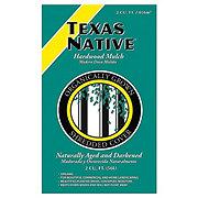 Texas Native Hardwood Brown Mulch