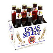 Texas Select Non-Alcoholic Beer 6 PK Bottles