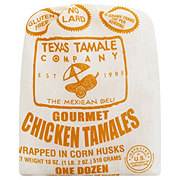 Texas Tamale Company Gourmet Chicken Tamales