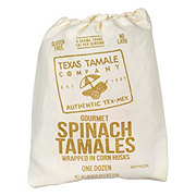 Texas Tamale Company Gourmet Spinach Tamales