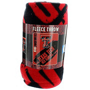 Texas Tech Red Raiders Printed Fleece Throw