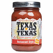 Texas-Texas Restaurant Style Medium Salsa