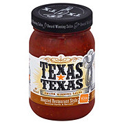 Texas-Texas Roasted Restaurant Style Medium Salsa