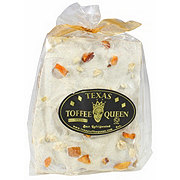 TEXAS TOFFEE QUEEN WHT Choco Peach Gin Hab Toffee