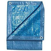 Texsport Blue Reinforced Rip-Stop Polyethylene Tarp