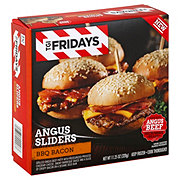 TGI Fridays BBQ Bacon Angus Sliders