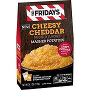 TGI Fridays Cheesy Cheddar Mashed Potatoes Crispy Cheddar