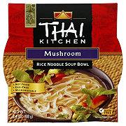 Thai Kitchen Mushroom Rice Noodle Soup Bowl