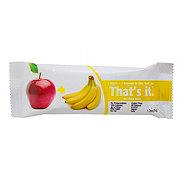 That's It Apple Banana Snack Bar