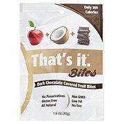 That's It Bites Apples Coconut Dark Chocolate