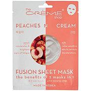 The Creme Shop Peaches N Cream Fusion Sheet Mask