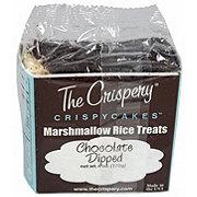 The Crispery Crispery Chocolate Dipped