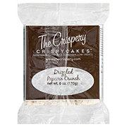 The Crispery Crispycakes Marshmallow Treat, Drizzled Popcorn Crunch