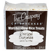 The Crispery Crispycakes Pretzel Surprise Marshmallow Rice Treats