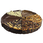The Father's Table 10 Inch Chocolate Lover's Variety Cheesecake