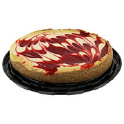 The Father's Table 10 Inch Strawberry Swirl Cheesecake