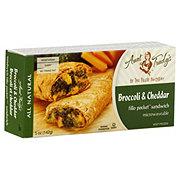 The Fillo Factory Aunt Trudy's Broccoli & Cheddar Fillo Pocket Sandwich